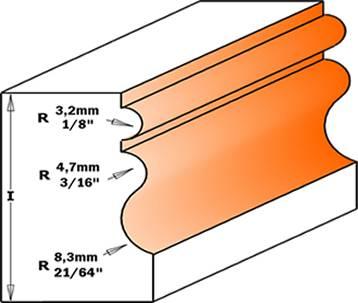 Moldura de madera para la fabricacion de muebles