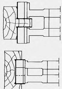 Jgo de fresa extensibles,con regulación mediante anillos de separación