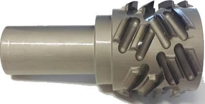 Fresa de corte axial a 40º para grandes desbaste en diamante PCD