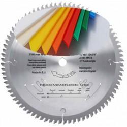 Discos para cortar metacrilato materiales plasticos