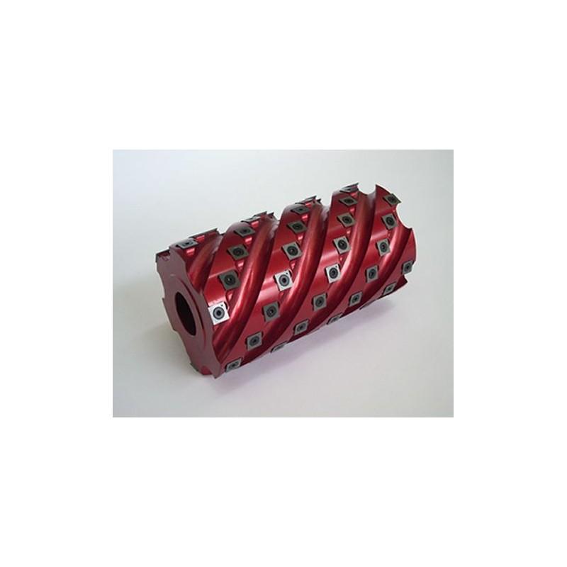 Cabezal helicoidal para cepillar aleación especial