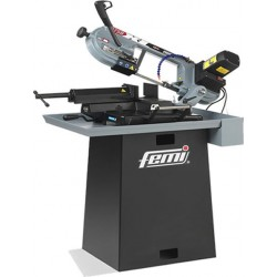 Partes principales de la sierra de cinta para metal Femi 1750XL