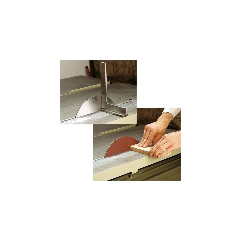Sierra para disco de lijar y equilibrado de sierras circulares
