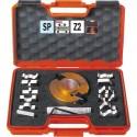 Maletin con portacuchillas + 13 juegos de cuchillas para molduras