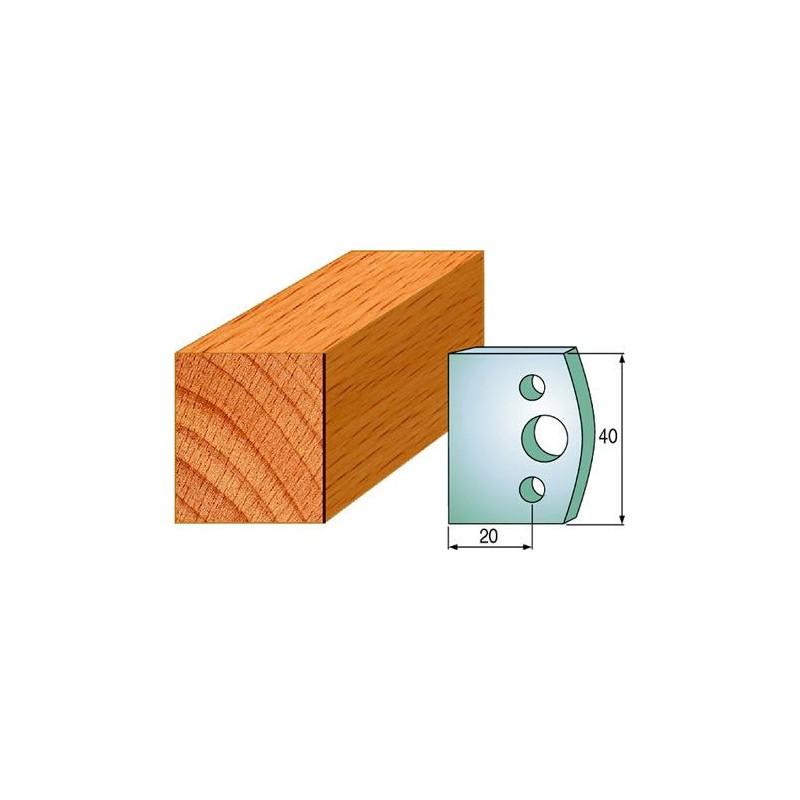 Cuchillas y contracuchillas perfiladas para madera 690.000