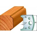 Cuchillas y contracuchillas perfiladas para madera 690.002