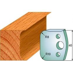 Cuchillas y contracuchillas perfiladas para madera 690.003