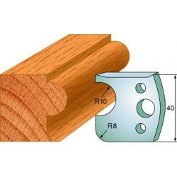 Cuchillas y contracuchillas perfiladas para madera 690.004