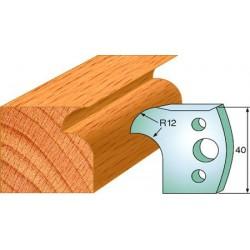 Cuchillas y contracuchillas perfiladas para madera 690.005