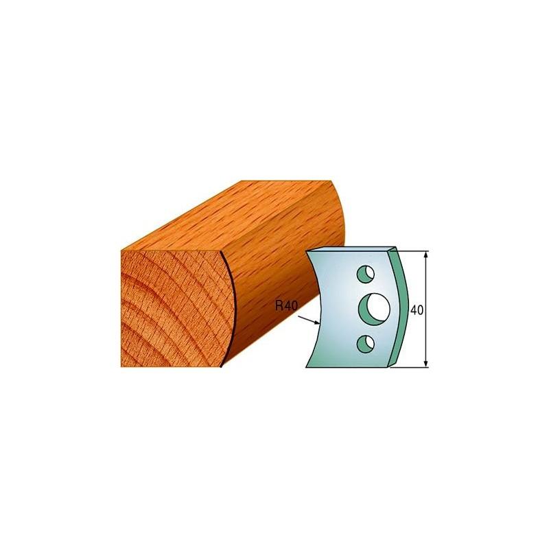 Cuchillas y contracuchillas perfiladas para madera 690.008