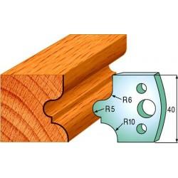 Cuchillas y contracuchillas perfiladas para madera 690.012