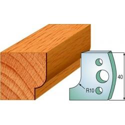 Cuchillas y contracuchillas perfiladas para madera 690.013