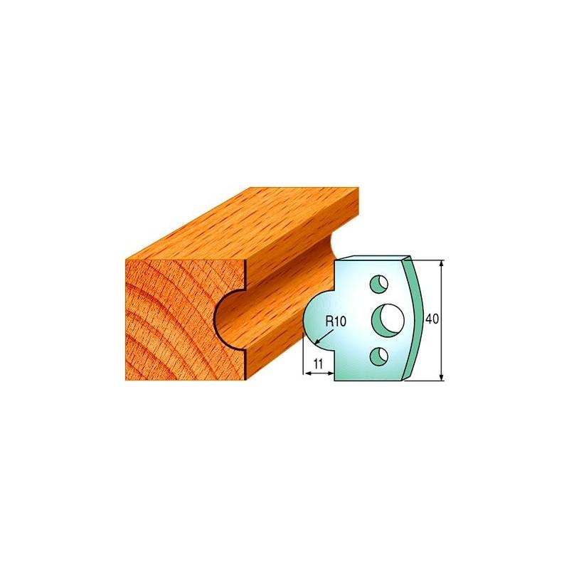 Cuchillas y contracuchillas perfiladas para madera 690.014