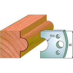 Cuchillas y contracuchillas perfiladas para madera 690.015