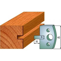 Cuchillas y contracuchillas perfiladas para madera 690.016