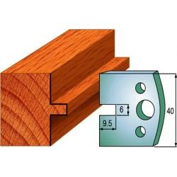 Cuchillas y contracuchillas perfiladas para madera 690.017
