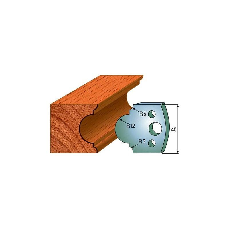 Cuchillas y contracuchillas perfiladas para madera 690.018