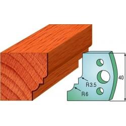 Cuchillas y contracuchillas perfiladas para madera 690.019