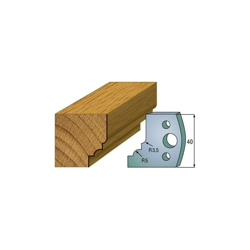 Cuchillas y contracuchillas perfiladas para madera 690.020