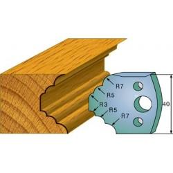 Cuchillas y contracuchillas perfiladas para madera 690.021