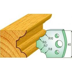 Cuchillas y contracuchillas perfiladas para madera 690.022