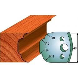 Cuchillas y contracuchillas perfiladas para madera 690.023