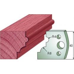 Cuchillas y contracuchillas perfiladas para madera 690.024