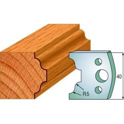 Cuchillas y contracuchillas perfiladas para madera 690.025
