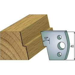 Cuchillas y contracuchillas perfiladas para madera 690.027