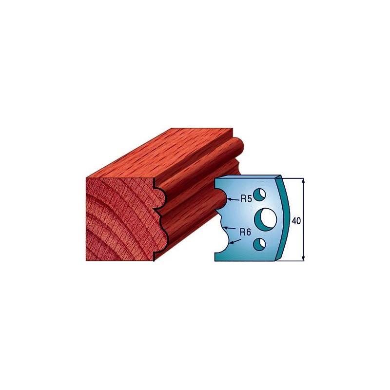 Cuchillas y contracuchillas perfiladas para madera 690.029