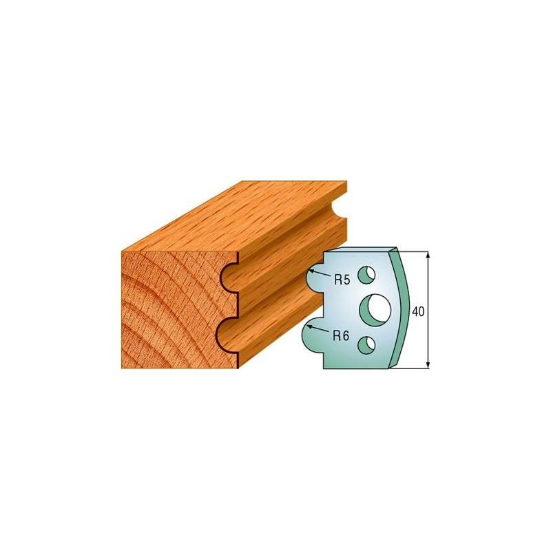 Cuchillas y contracuchillas perfiladas para madera 690.030