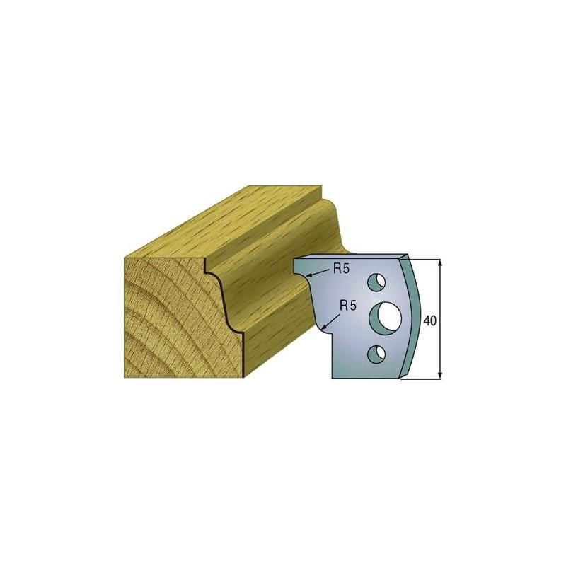 Cuchillas y contracuchillas perfiladas para madera 690.031