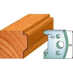 Cuchillas y contracuchillas perfiladas para madera 690.032