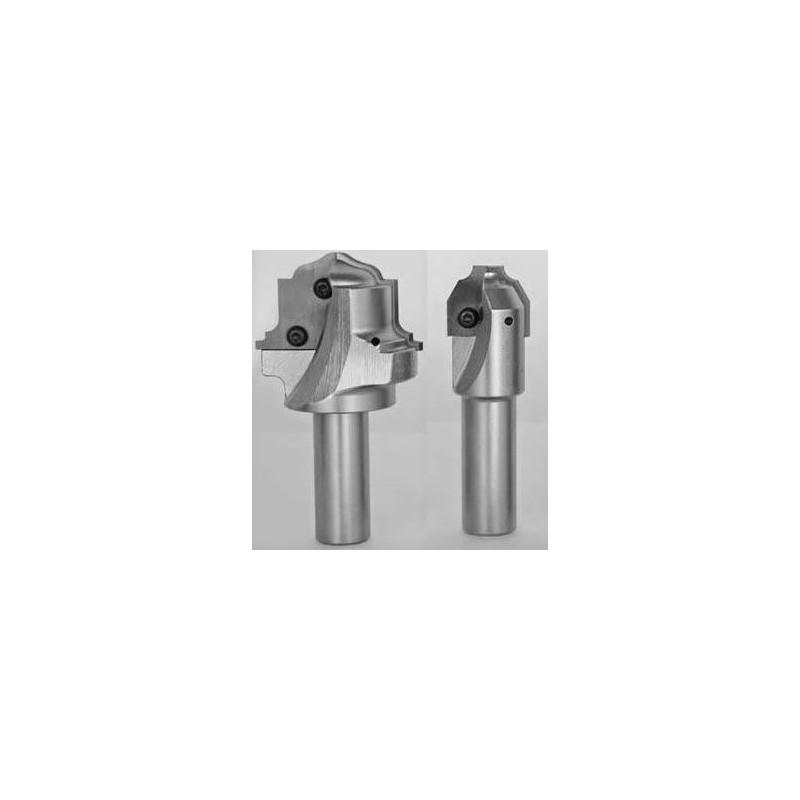 Fresas y cuchillas para puertas de madera o mdf en maquinas CNC