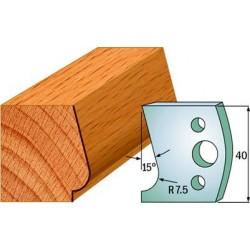 Cuchillas y contracuchillas para madera perfiladas 690.038
