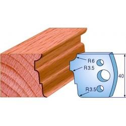 Cuchillas para molduras de madera 690.039