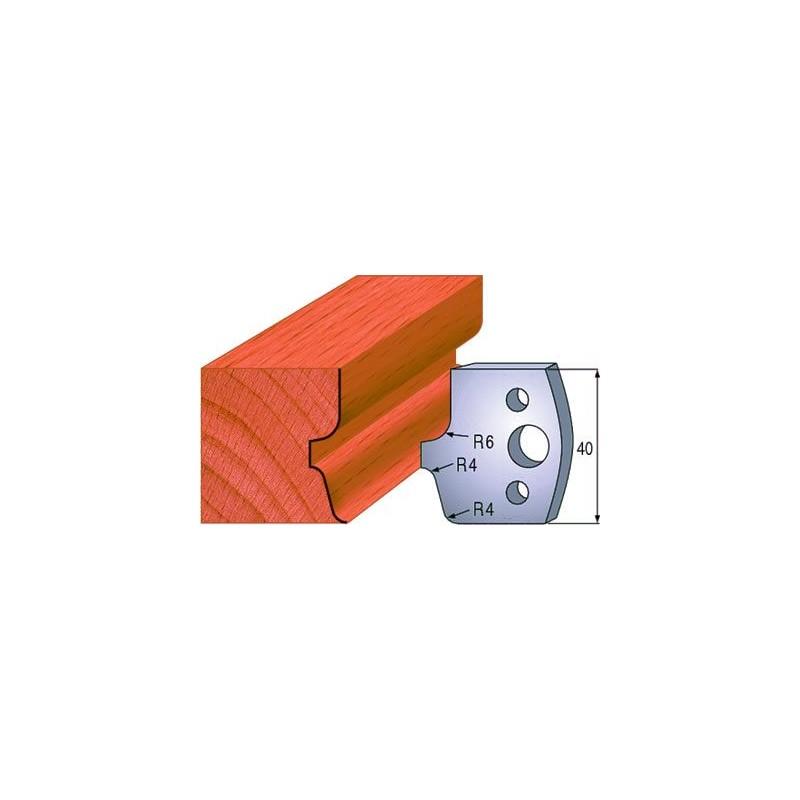 Cuchillas de acero con perfil para madera 690.041
