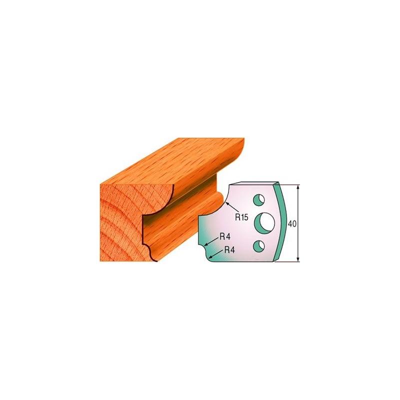 Cuchillas para hacer molduras de madera 690.043