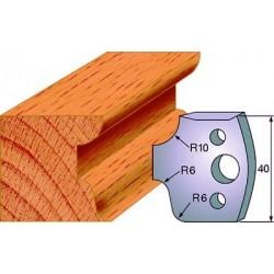 Cuchillas para molduras de madera decorativas  690.045