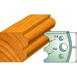 Cuchillas y contracuchillas para la madera 690.051