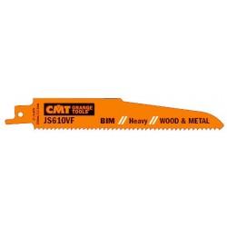 Hojas de sierra sables bimetalicas madera,metal serie corta hasta 100 mm