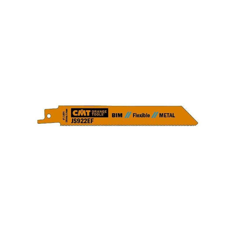 Hojas de sierras sables bimetal para perfiles hasta de 100 mm