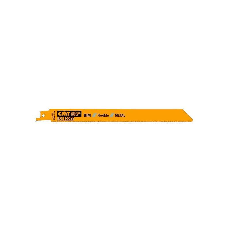 Hoja de sierra sable bimetal 8% cortes hasta 175 mm