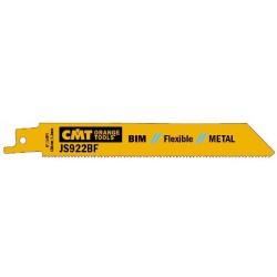 Hoja de sierra sable bimetal 8% cortes chapas de 3 a 8 mm