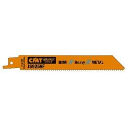 Hoja de sierra sable metal cortes chapas semigruesas y finas de 2 a 10 mm