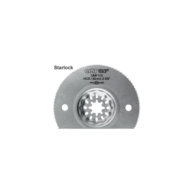Hoja sierra segmentada 85 mm HCS multimateriales