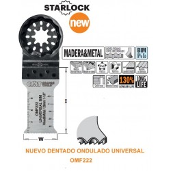 MADERA y METAL Hoja de Sierra BIMETALICA de 28 mm