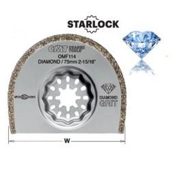 ALBAÑILERIA Hoja de sierra diamante con 75 mm de ancho