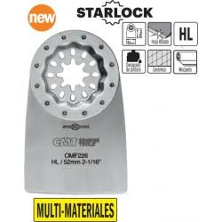 MULTI-MATERIALES hoja rascadora rigida de 52 mm