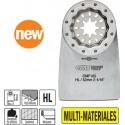 MULTI-MATERIALES hoja rascadora flexible de 52 mm